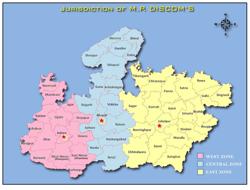 MP DISCOM Jurisdiction